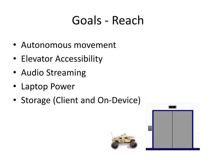 Goals - Reach