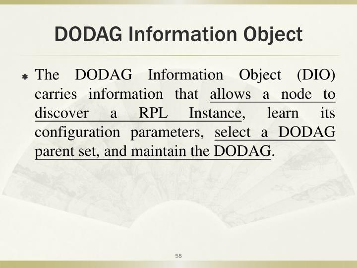 DODAG Information Object