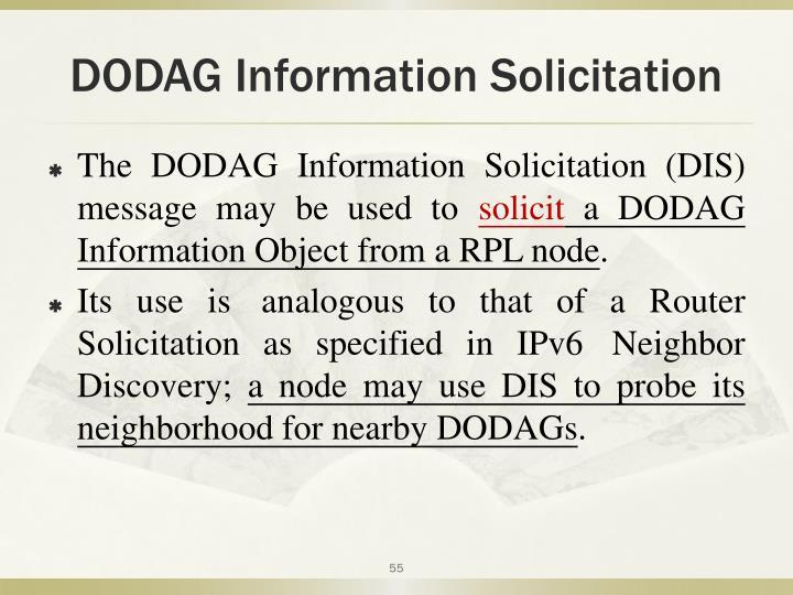 DODAG Information