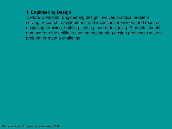 1. Engineering Design