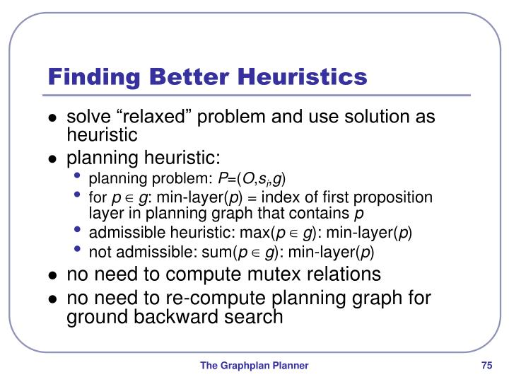 Finding Better Heuristics