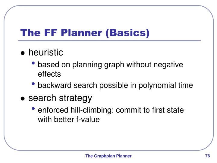 The FF Planner (Basics)
