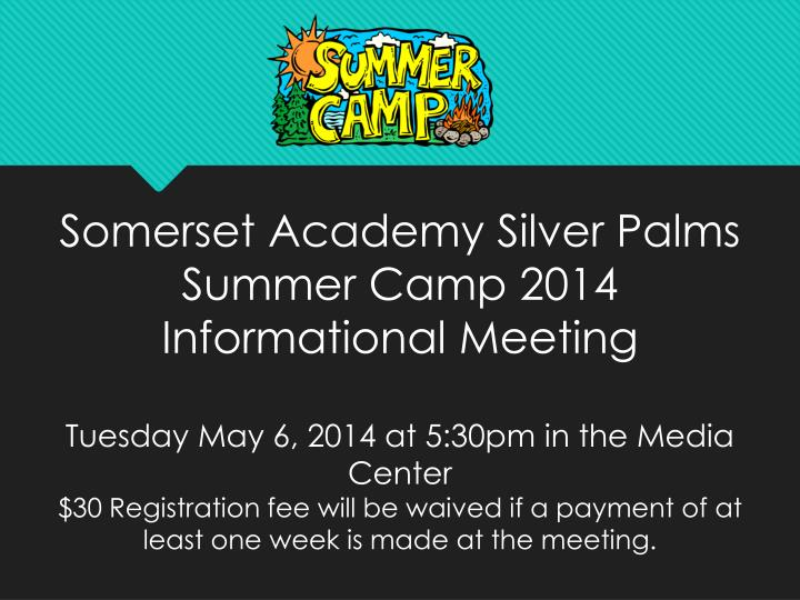 Somerset Academy Silver Palms