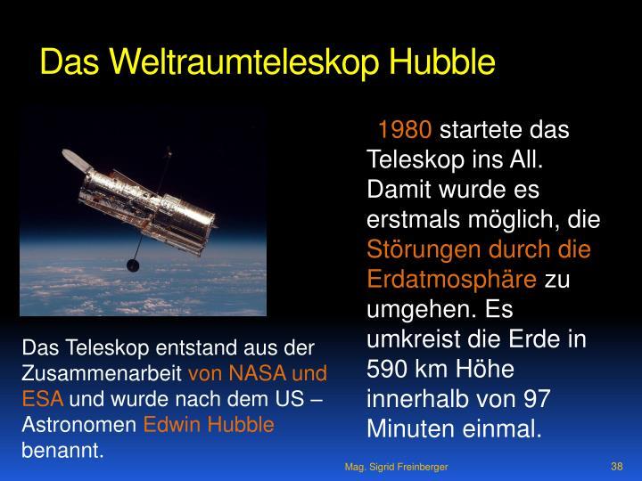 Das Weltraumteleskop Hubble