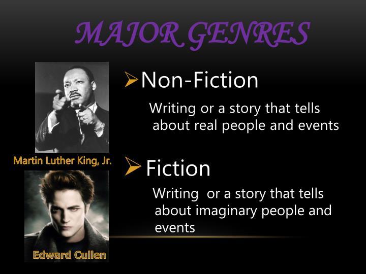 Major Genres