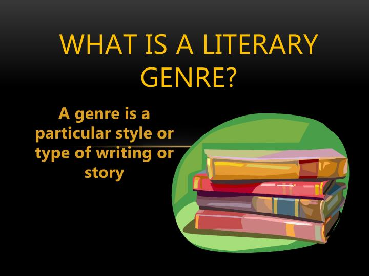 What is a literary genre?