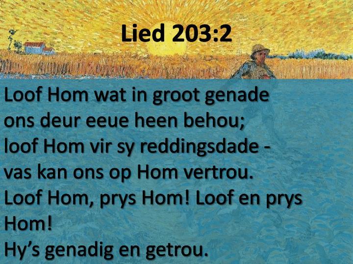 Lied 203:2