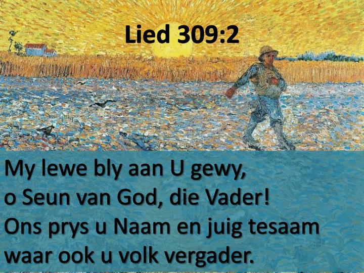 Lied 309:2