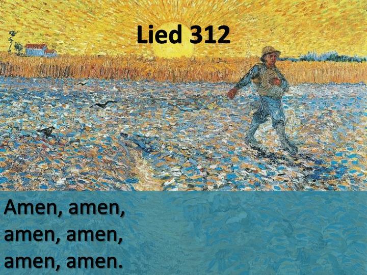 Lied 312