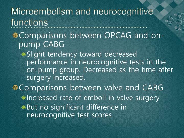 Microembolism