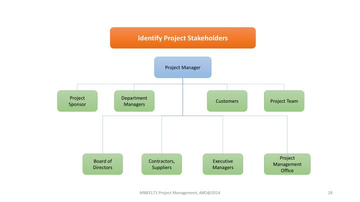 Identify Project Stakeholders