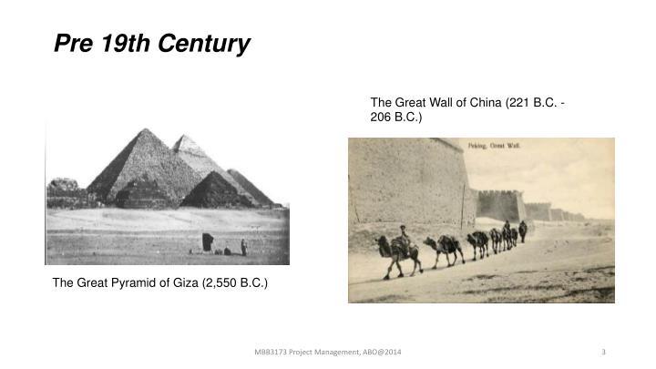 Pre 19th Century