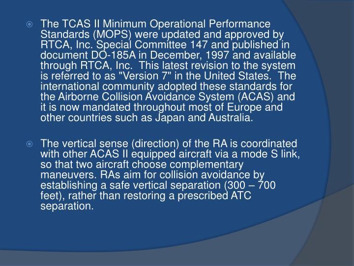 PPT - ACAS/TCAS PowerPoint Presentation - ID:1982117