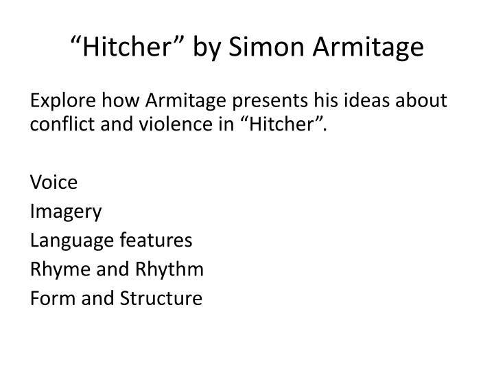 """Hitcher"" by Simon"