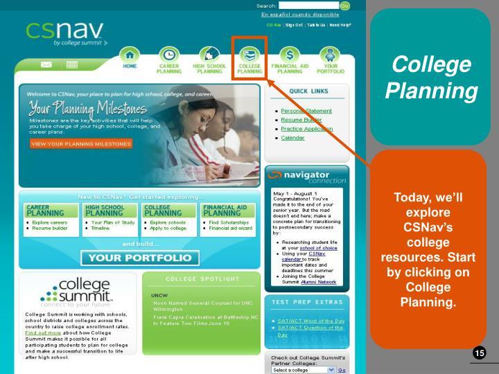 College Planning