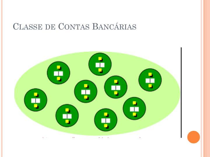 Classe de Contas Bancárias