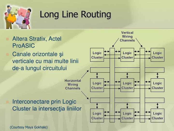 Long Line Routing