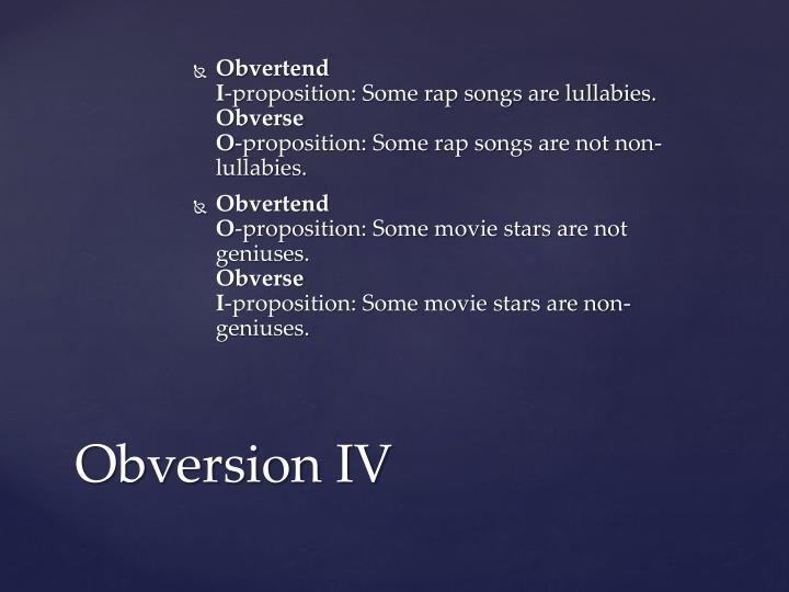 Obvertend