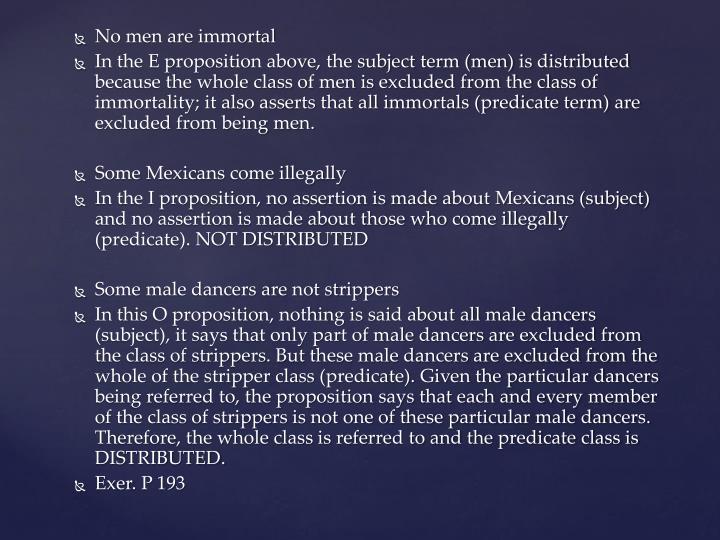 No men are immortal