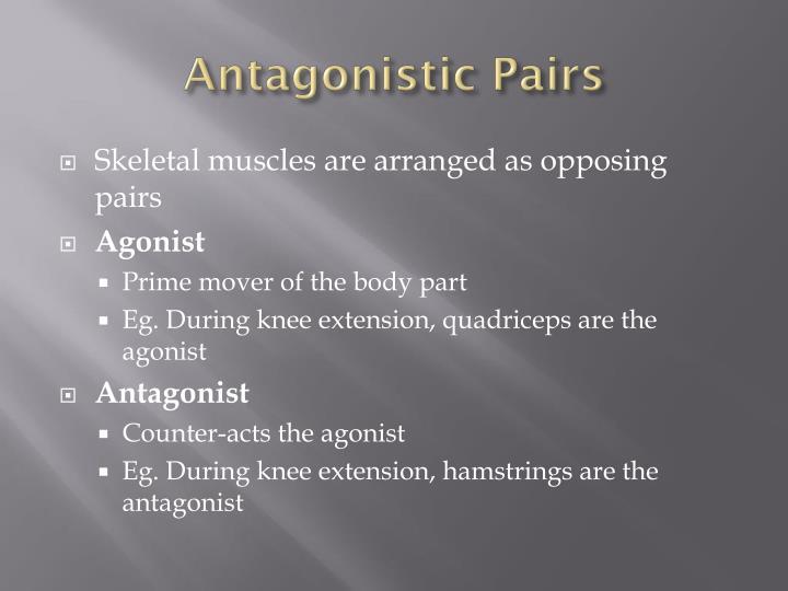 Antagonistic Pairs