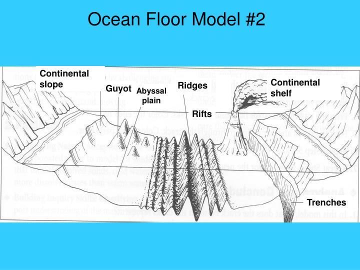 Ocean Floor Model #2