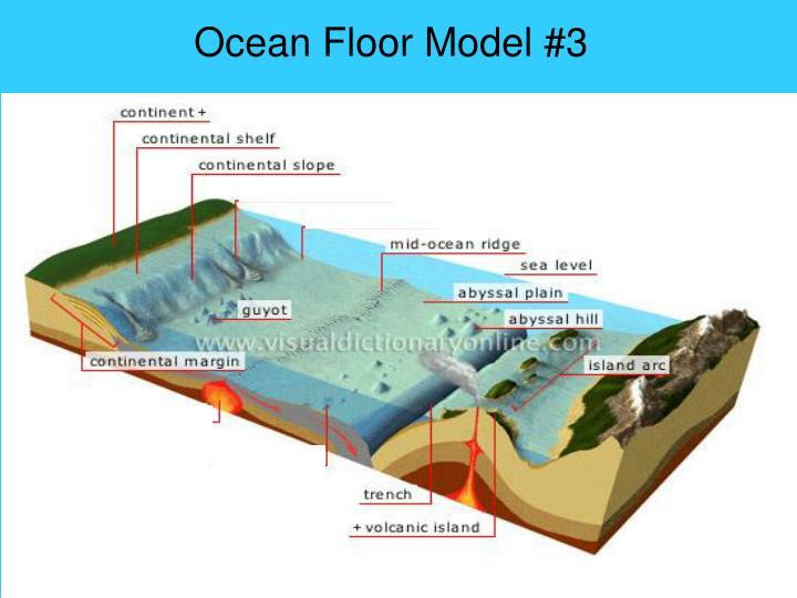 Ocean Floor Model #3