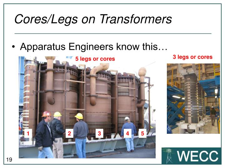 Cores/Legs on Transformers