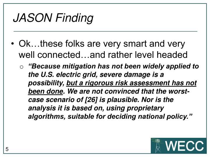 JASON Finding
