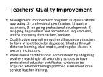 teachers quality improvement1