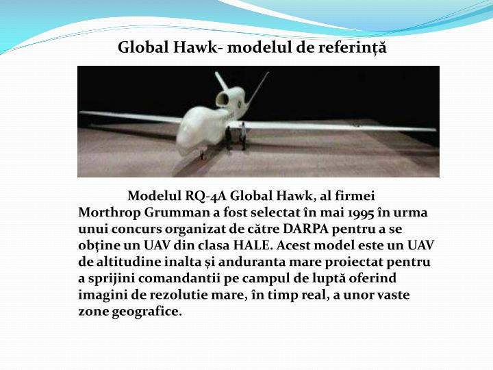 Global Hawk- modelul de referință