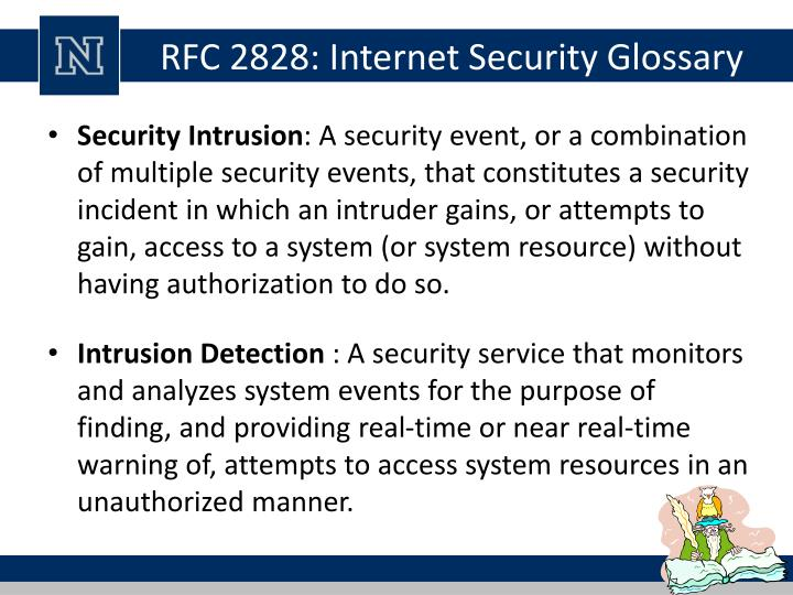 RFC 2828: Internet Security Glossary