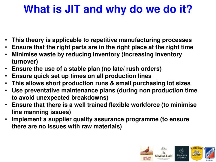 This theory is applicable to repetitive manufacturing processes