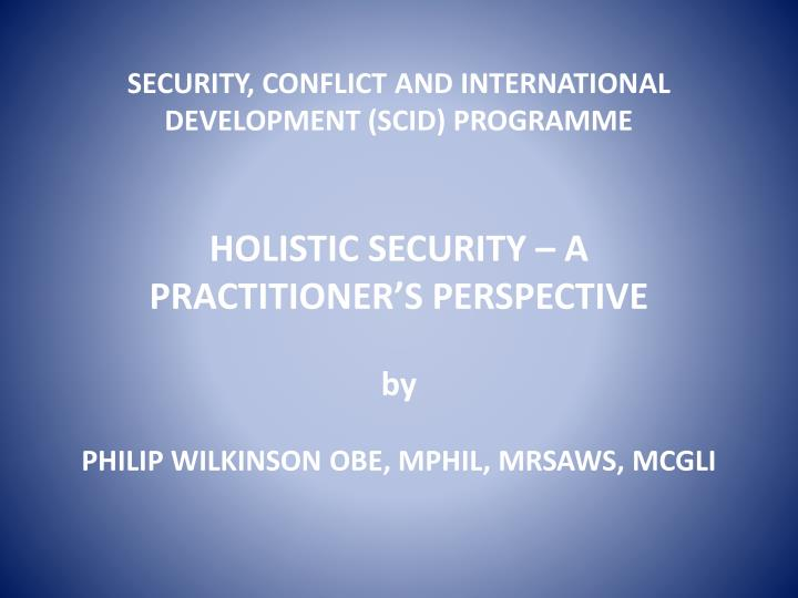 holistic development observations