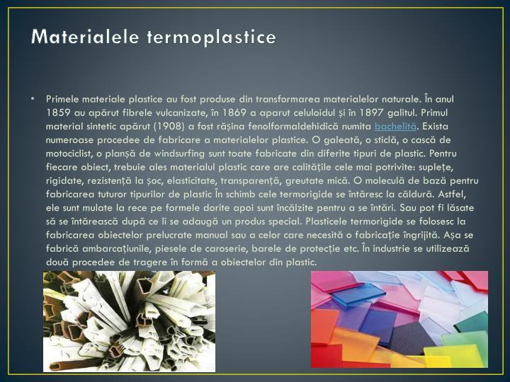 Materialele