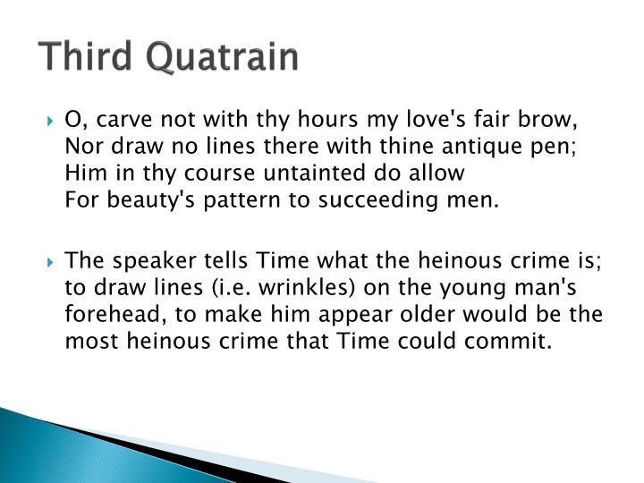 Third Quatrain