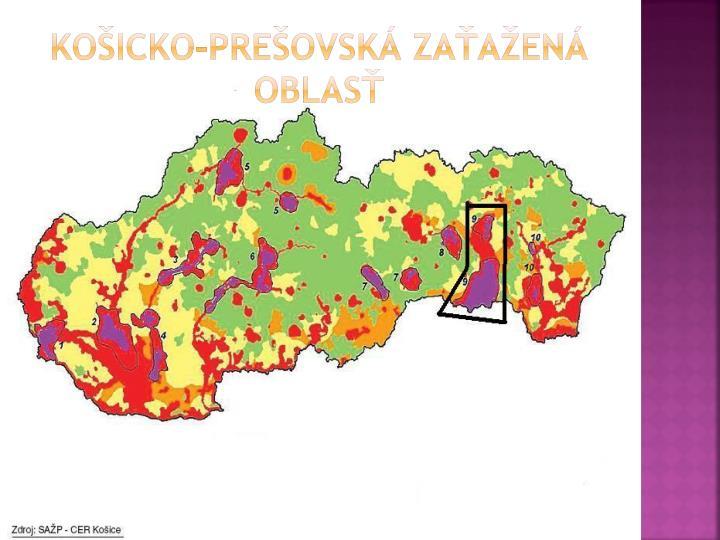 Košicko-prešovská zaťažená oblasť