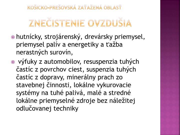 Košicko-prešovská