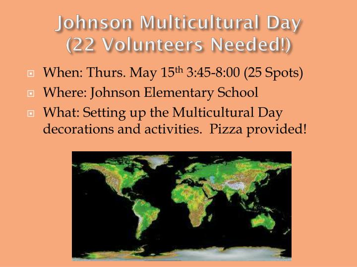 Johnson Multicultural Day