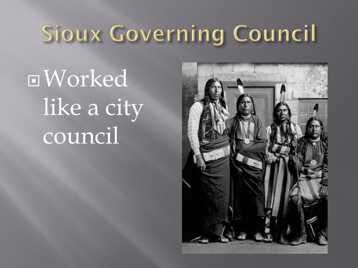Sioux Governing Council