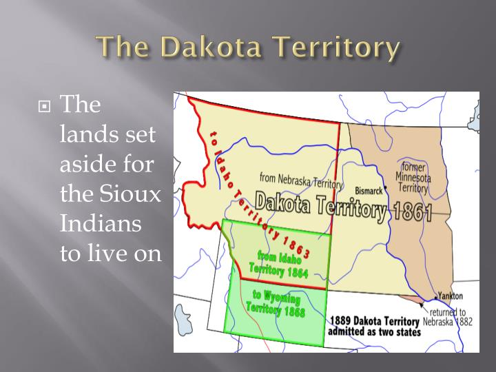 The Dakota Territory