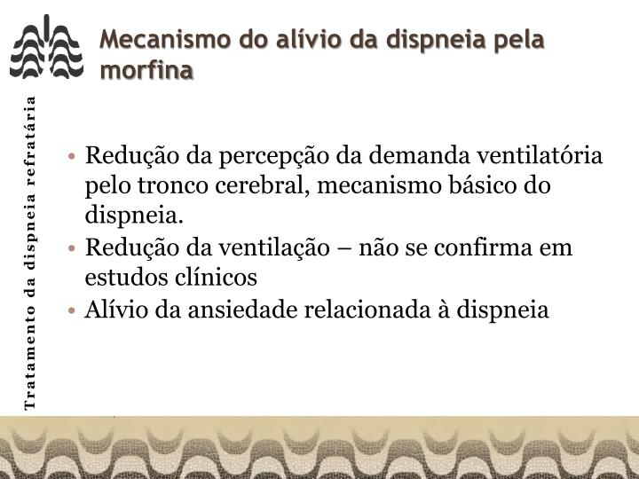 Mecanismo do alívio da