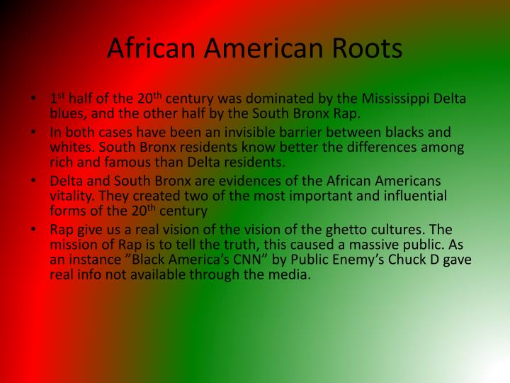 African American Roots