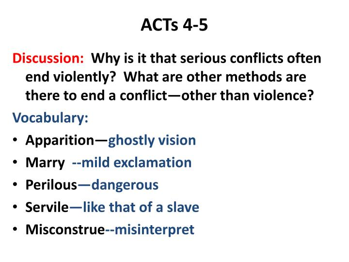 ACTs 4-5