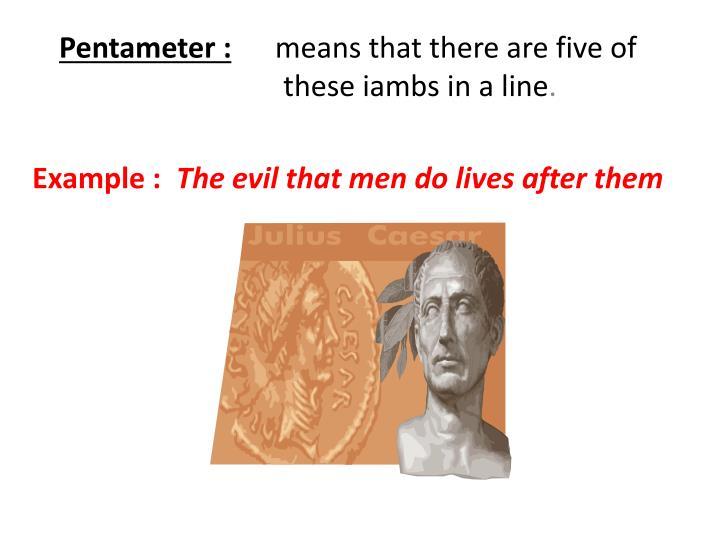 Pentameter :
