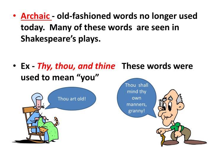 Archaic