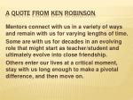 a quote from ken robinson