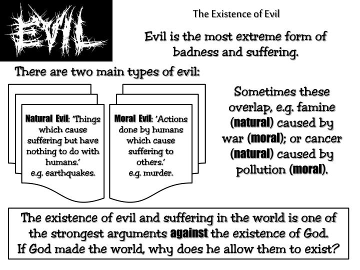 The Existence of Evil