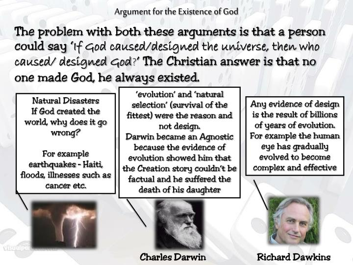 Argument for the Existence of God