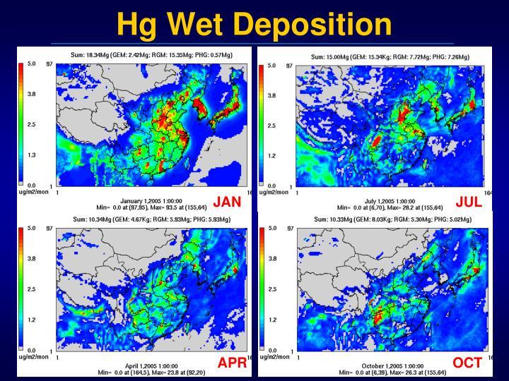 Hg Wet Deposition