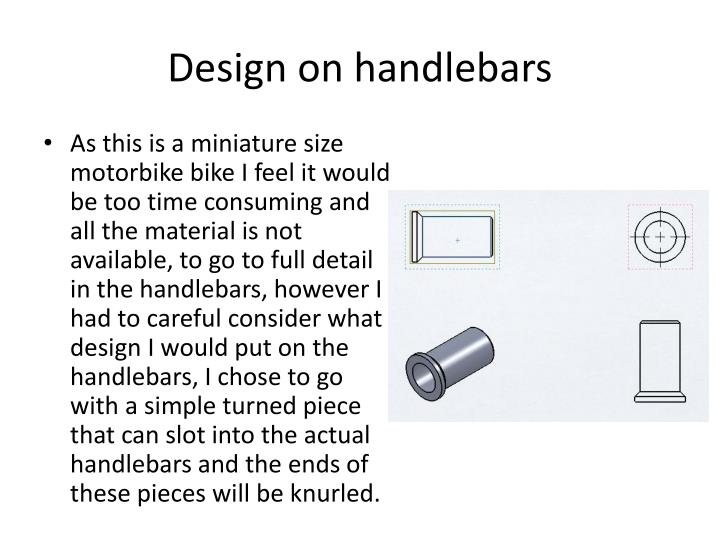 Design on handlebars